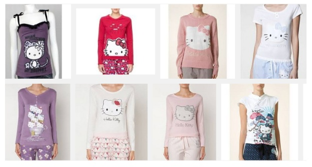 hello kitty cleardawndesigns PIJAMAS