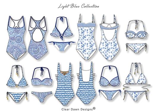 1 in blue cleardawndesigns