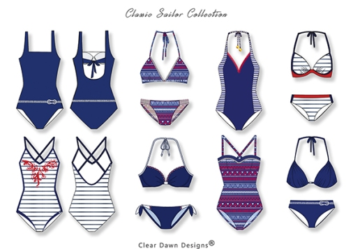 3 classic sailor cleardawndesigns
